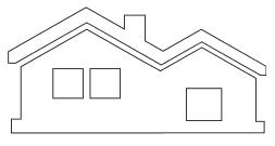 Загородные дома и коттеджи, таунхауссы