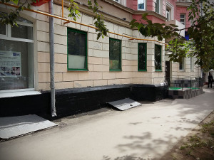 Фасад до перепланировки