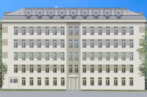 Перепланировка здания. Перепланировка нежилого 5-ти этажного административного помещения.